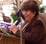 Babra Dunn at Orange County Federation of Sportsmen's Clubs Dinner, 2003